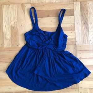 Blue tank top from Express